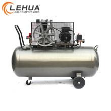 Compresor de aire portátil a gas con motor eléctrico de 7.5kw