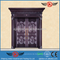 JK-C9105 Luxus Imitieren Kupfer Sicherheit Türen