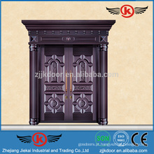 JK-C9104 Imitate Copper Steel Security Doors Design