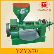 Горизонтальный пресс давления масла 40kgs / hr малый пресс масла (YZYX70)