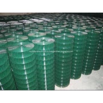 Treillis métallique soudé enduit de PVC