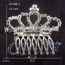 Cheap Crown Wedding Hair Combs