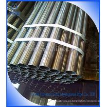 Tubo y tubo de acero sin soldadura suave / laminado en frío