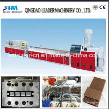 Высокое качество продукции WPC настилов линия