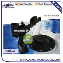 Angelrutenhalter für Boote, Angelrutenhalter aus Kunststoff