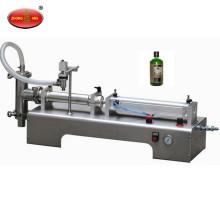 Machine de remplissage liquide de piston semi automatique, machine de remplissage liquide