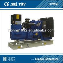 50KVA Lovol 60Hz génération d'énergie, HPM56, 1800RPM