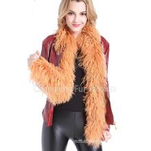 Women Fashion Mongolian Lamb Tibet Lamb Fur Scarf