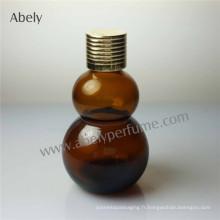 Bouteille en verre de parfum très mince pour huile de parfum