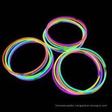 """rainbow 22"""" glow stick necklace"""