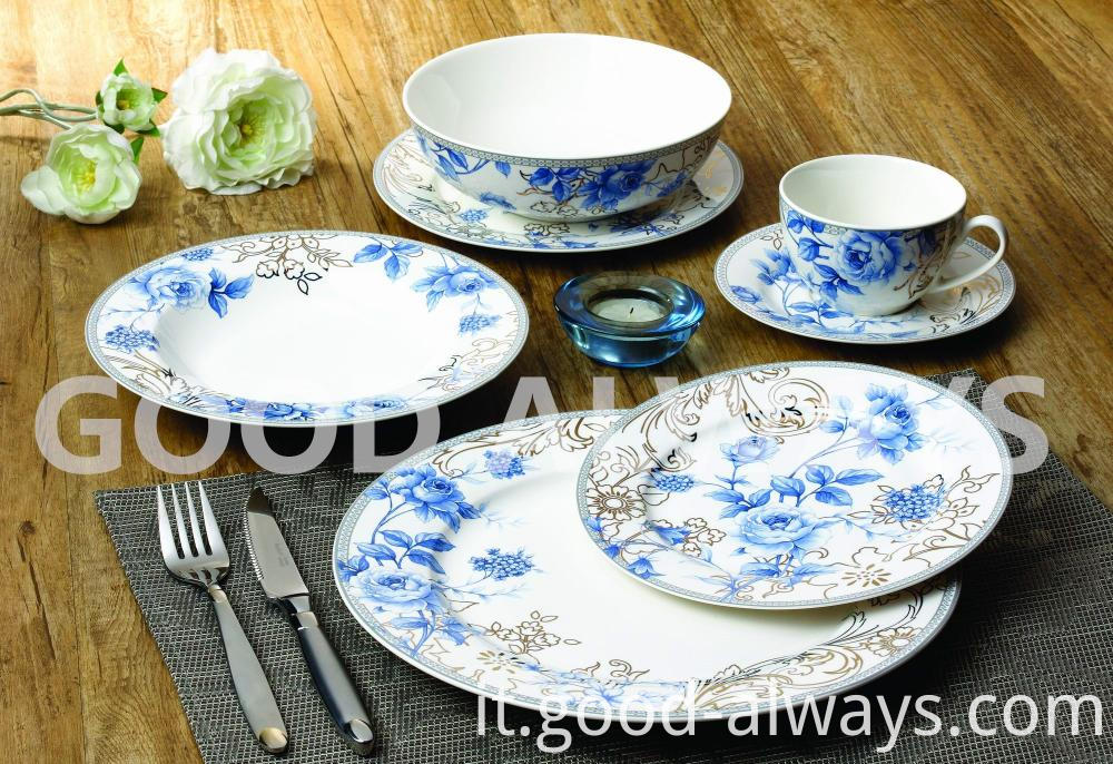 New Bone China Tableware With Elegant Design