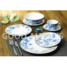New bone china tableware with elegant design