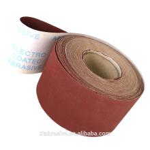 Rouleau jumbo d'OEM Haut rouleau de tissu de sable de coton rouleau de tissu d'émeri