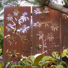 Corten Steel Decorative Screens Steel