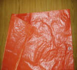 Orange Tarpaulin