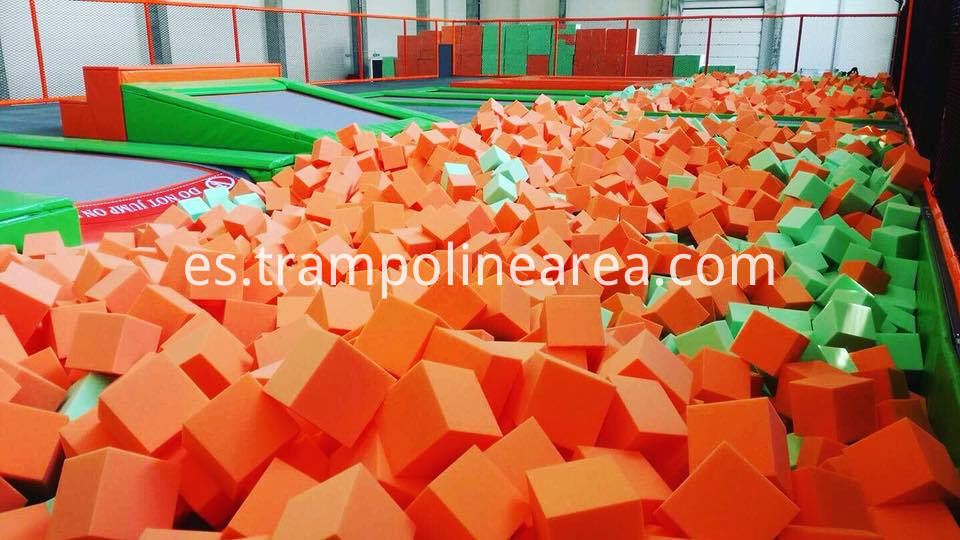 Poland indoor kids trampoline