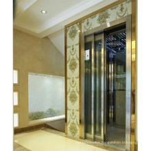 Passenger Elevators Made in China Hairline Stainless Steel Elevators