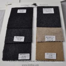 Alta margem de meia cáqui cor cashmere tecido de mistura de algodão