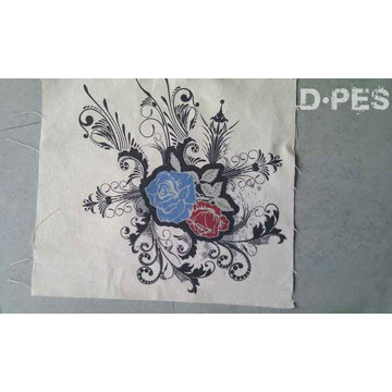 High Definition uv different types of prints on fabric