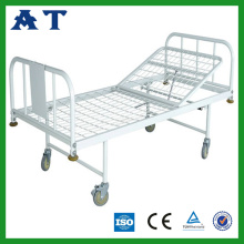 Sprayed double-folding net bed