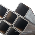 Black square iron tube Hollow Section rectangular Steel Pipe