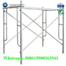 Gehen Sie durch Form-Stahl H Frame Scaffold von der Fabrik