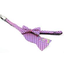 Corbata de lazo para hombre del color del punto al por mayor del vario