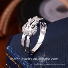 Новое Прибытие Женщин Ювелирные Изделия Специальные Формы Двойной Слой Палец Кольцо С Драгоценным Камнем