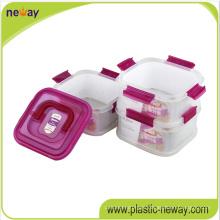 Cheap Custom Plastic Crisper Fresh Round Food Container