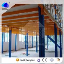 Jracking Portable Boutique Storage Equipment Mezzanine Plataforma de trabajo hidráulica