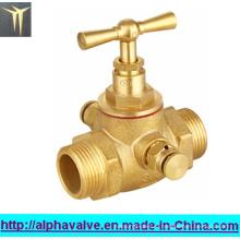 Латунный запорный клапан (a. 0145)