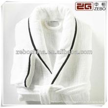 Элегантный белый шаль воротник оптовой роскоши 5-звездочный отель халат