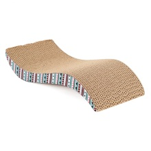 M Shaped Pet Cat Paper Board Sofa