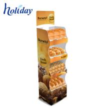 China Supplier Supermarket Snack Display Shelves,Paperboard Single-side Shop Display Shelves