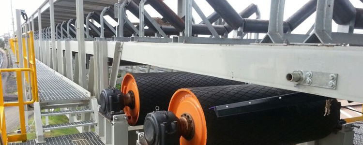 Bend Pulley Conveyor