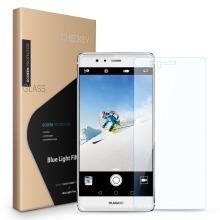 Protecteur d'écran en verre trempé anti-blue-ray de 0.33mm pour Huawei P9