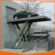 electric scissor lift for car parking