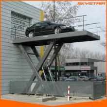 elevador elétrico de tesoura para estacionamento