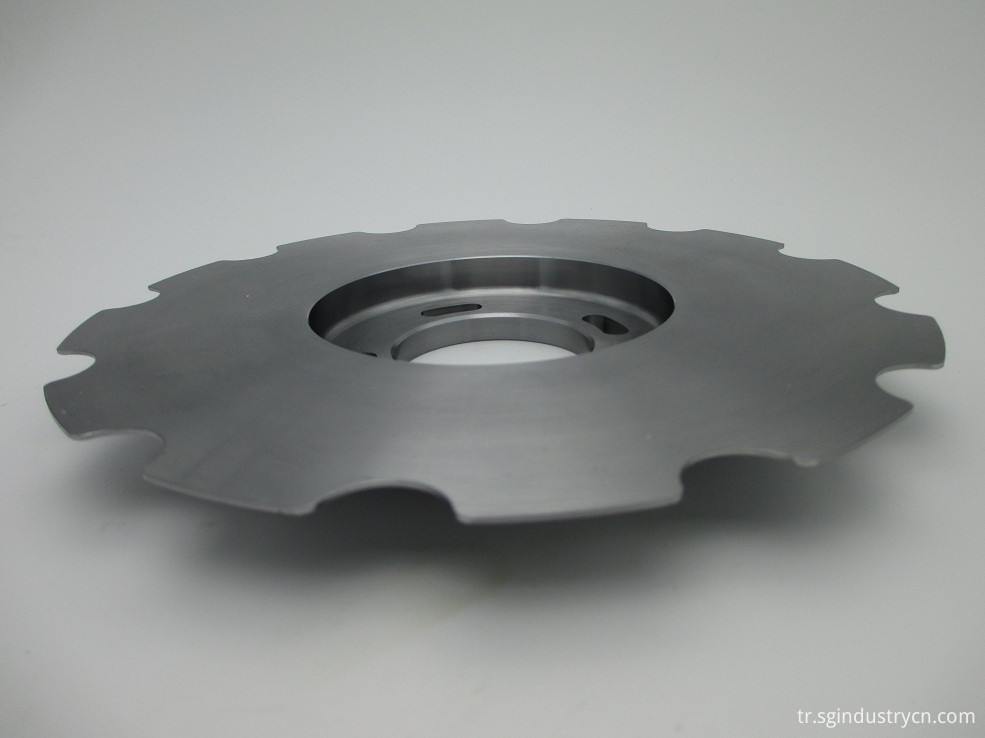 Stainless Steel Cnc Machines Parts