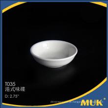 Königliche Fluggesellschaft und Restaurant klassische runde Design weiße Keramik kleine Schale