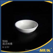 Royal Airbus et restaurant Classic Round Design White ceramic small dish
