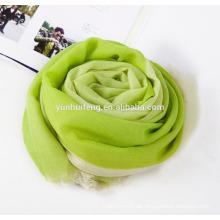 Qualität sehr weiches wasserlösliches Kaschmir-Schal hängen-gefärbt