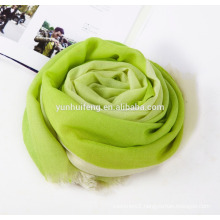 high quality very soft water soluble cashmere shawl hang-dyed