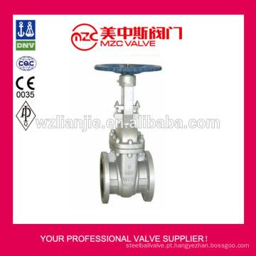 150LB flangeado válvulas de porta de aço de carbono