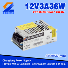 LED Power Supply 12V 3A 36W