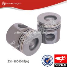 Pistão do motor genuíno yuchai 231-1004015 (A) para YC6G