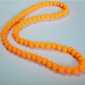 Neueste Orange Bead Halskette Designs