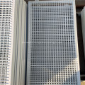 White Green PVC Coated Steel Wire Mesh Fencing