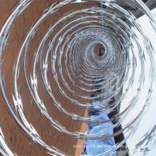 O melhor preço para arame farpado galvanizado mergulhado quente da lâmina