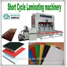 SCL/Short Cycle Laminating machine/Furniture laminates shot cycle press/press machine